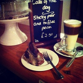 Coffee and Cake of the Day